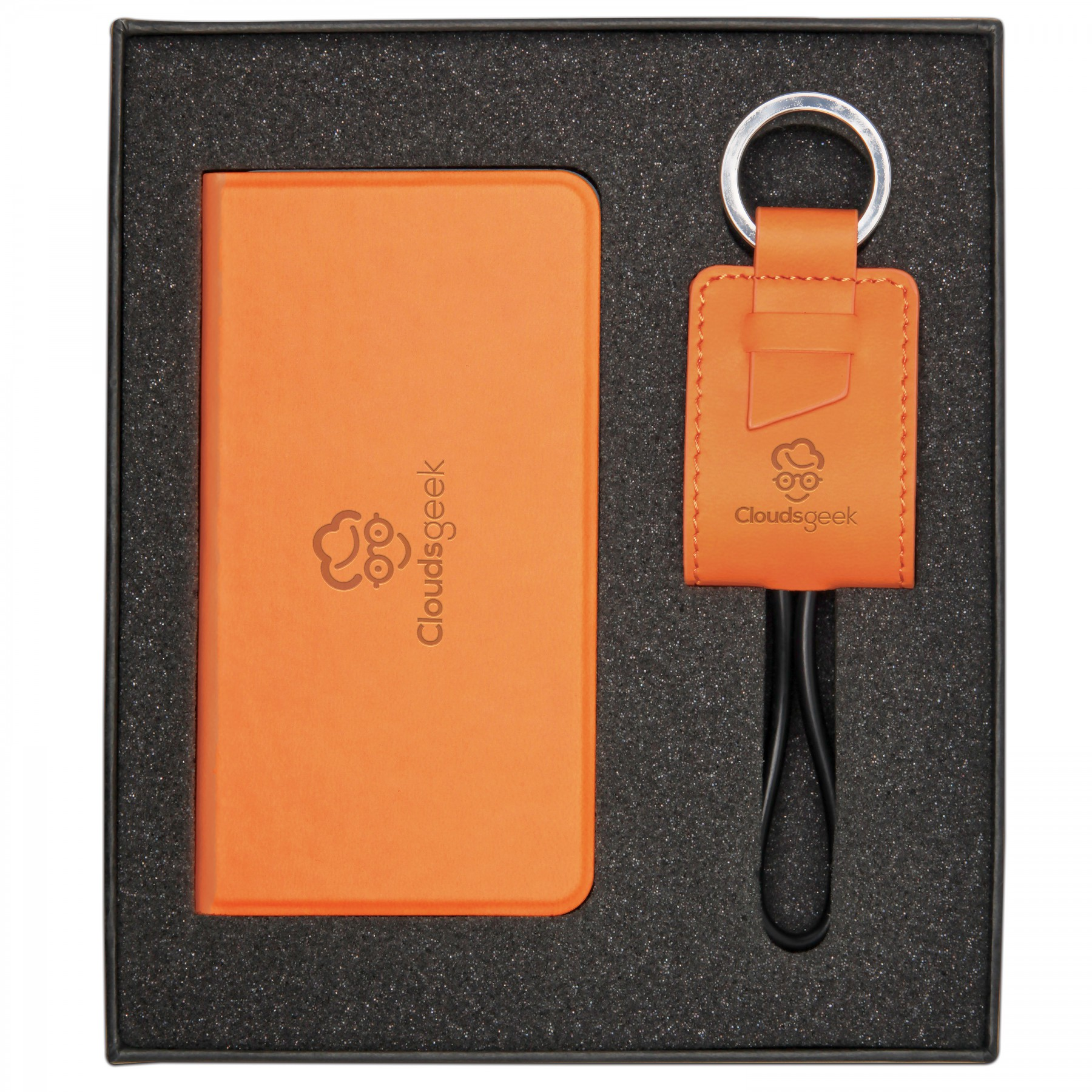 2 Piece Gift Set, GF461, Debossed Logo