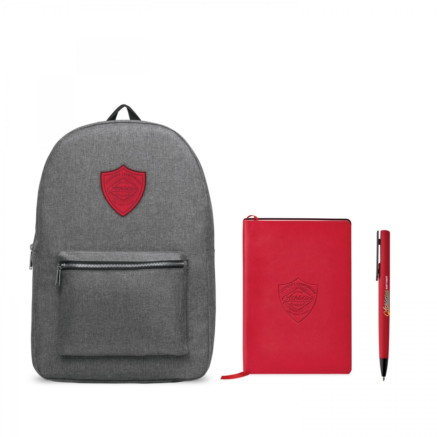 Nomad Must Haves Classic Backpack Donald Bundle, BB101, Debossed Logo