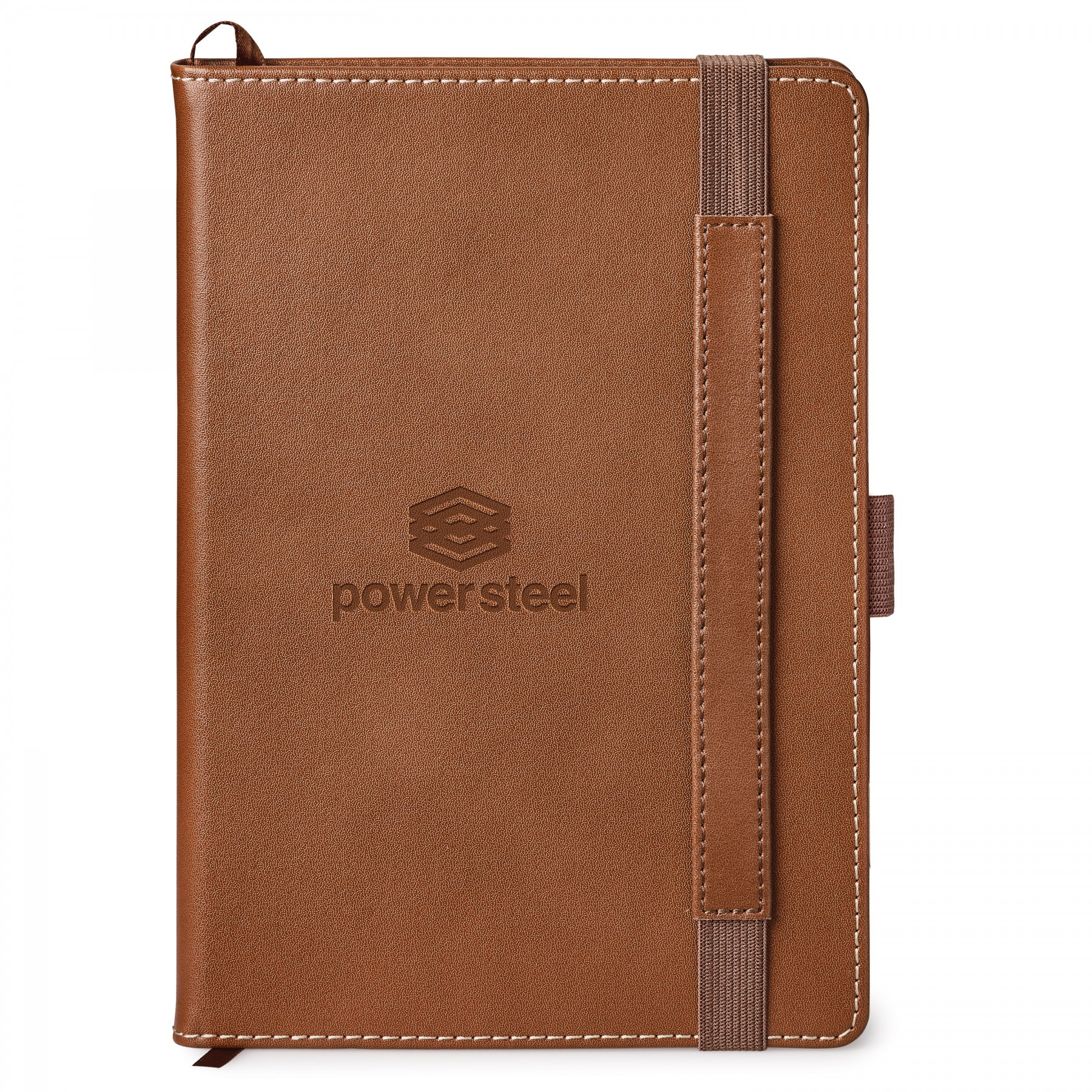 Nathan Hard Cover Journal, ST4682, Debossed Logo