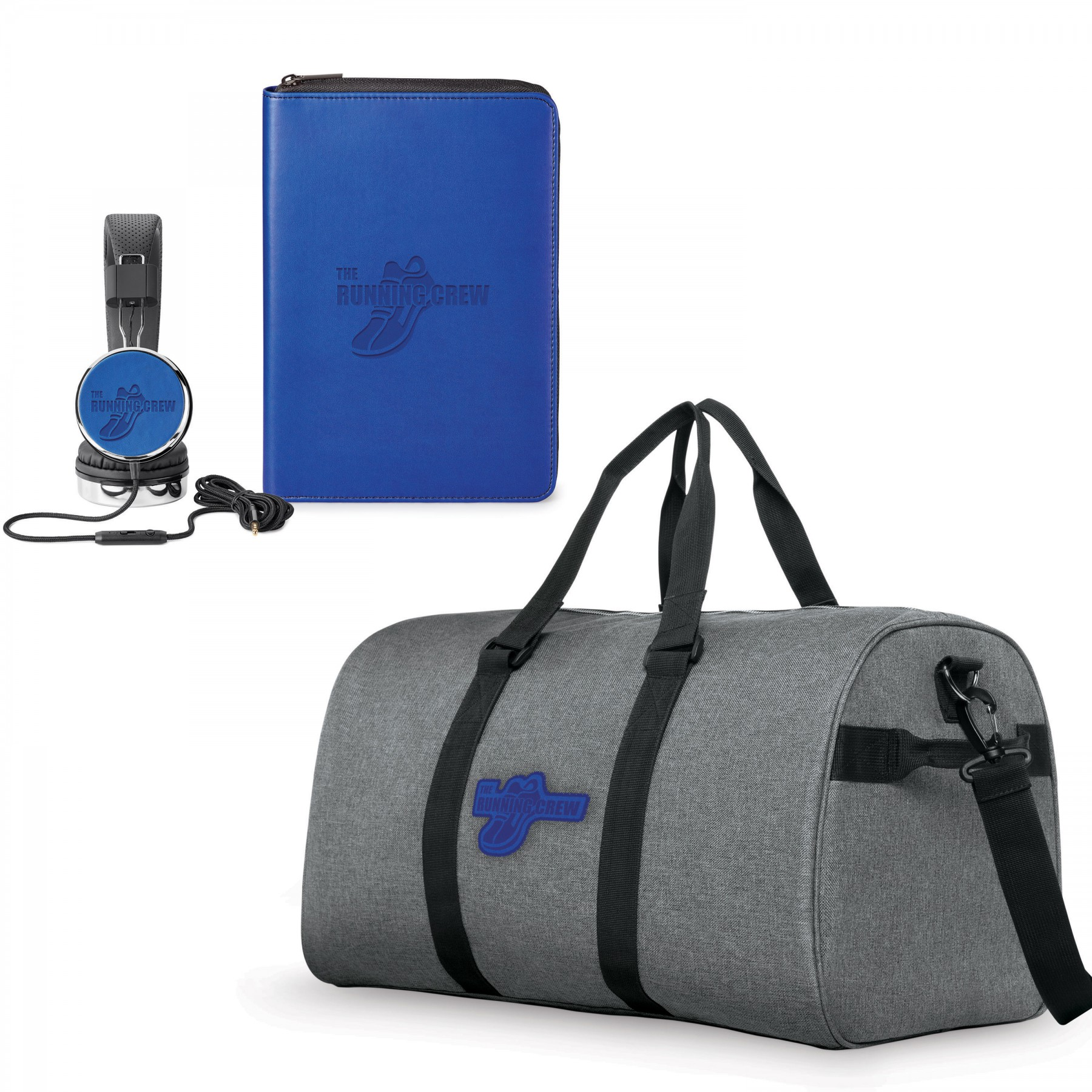 Nomad Must Haves Duffle Donald Bundle, BB105, Debossed Logo