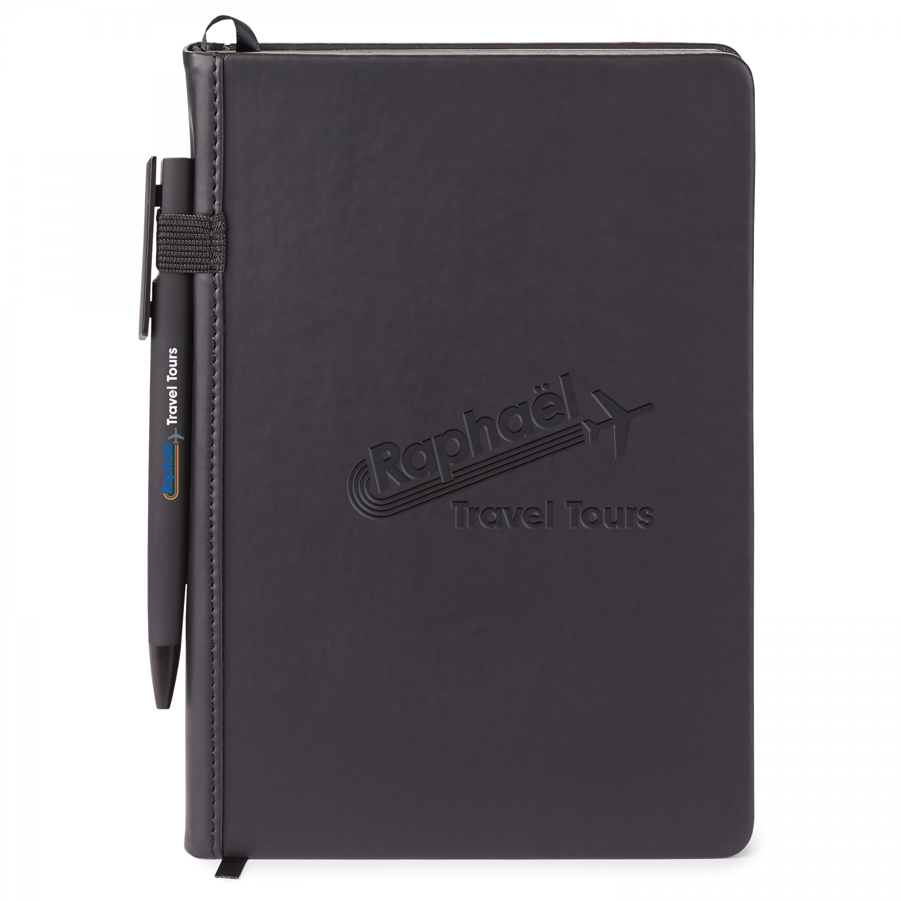 Donald Hard Cover Journal Combo, ST4361, Debossed Logo