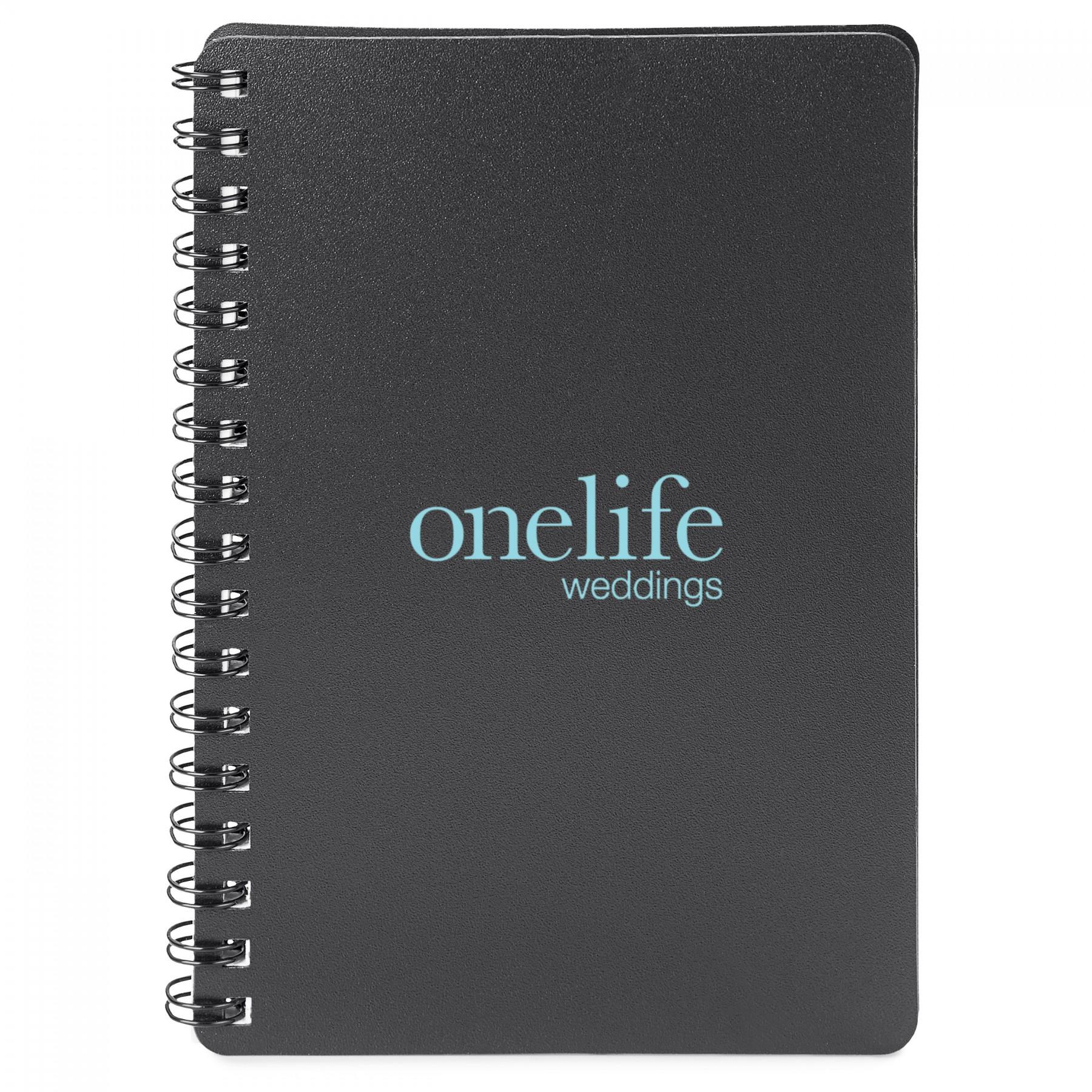 Spiral Notebook - 1 Colour Imprint (ST34)