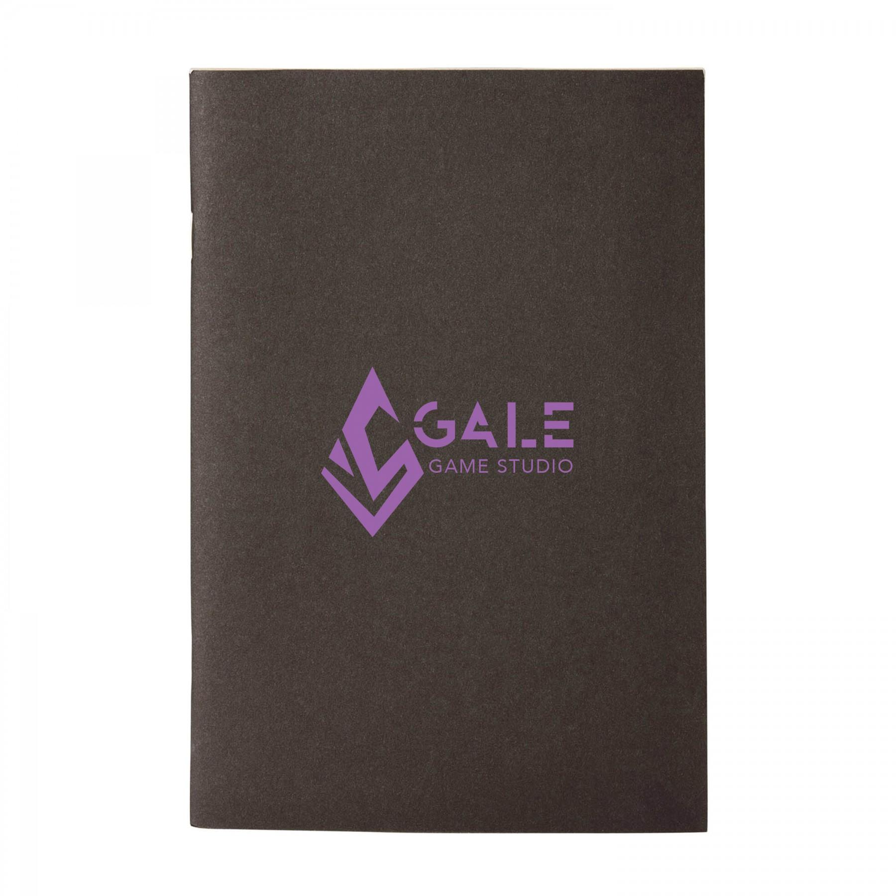 Saddle-Stitched Eco Notebook, EC3021, 1 Colour Imprint