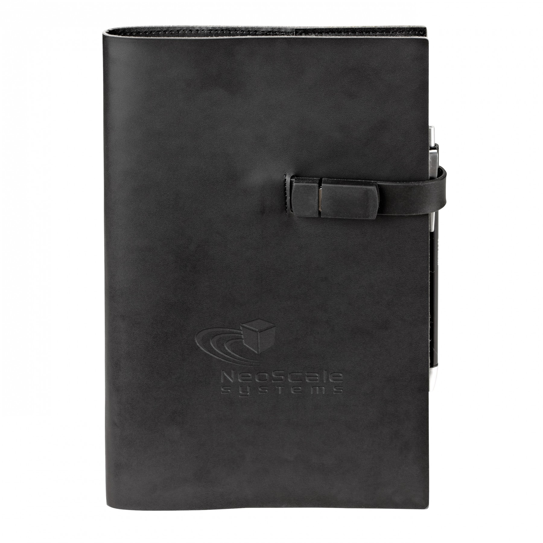 8gb USB Refillable Journal Combo, ST4312, Debossed Logo