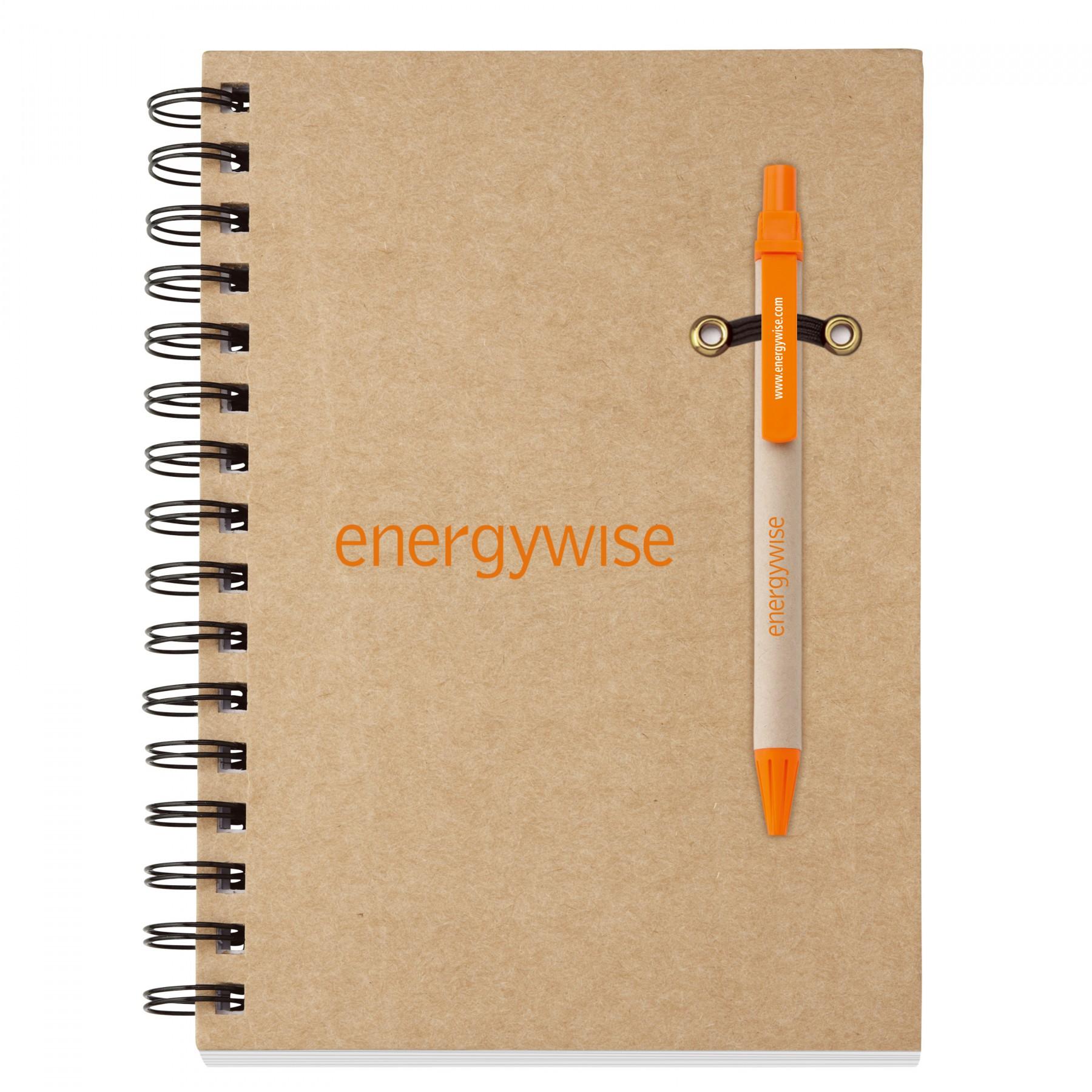 Ecologist Notebook Combo, EC6055, One Colour Imprint
