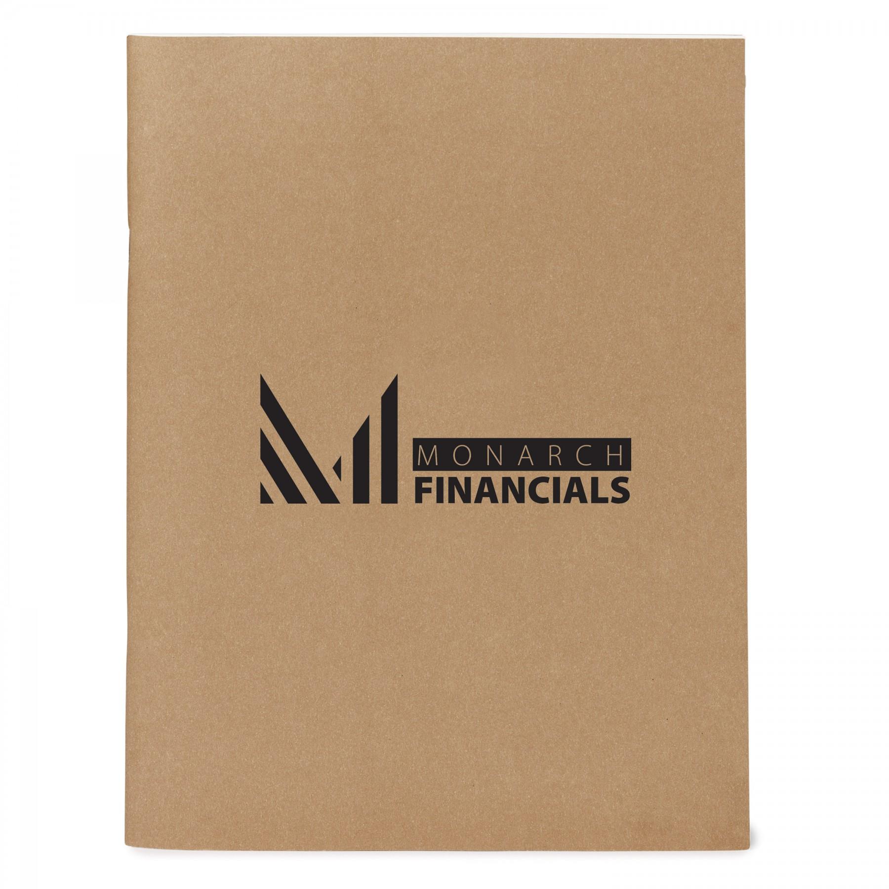 Large Eco Notebook - 1 Colour Imprint (EC3195)