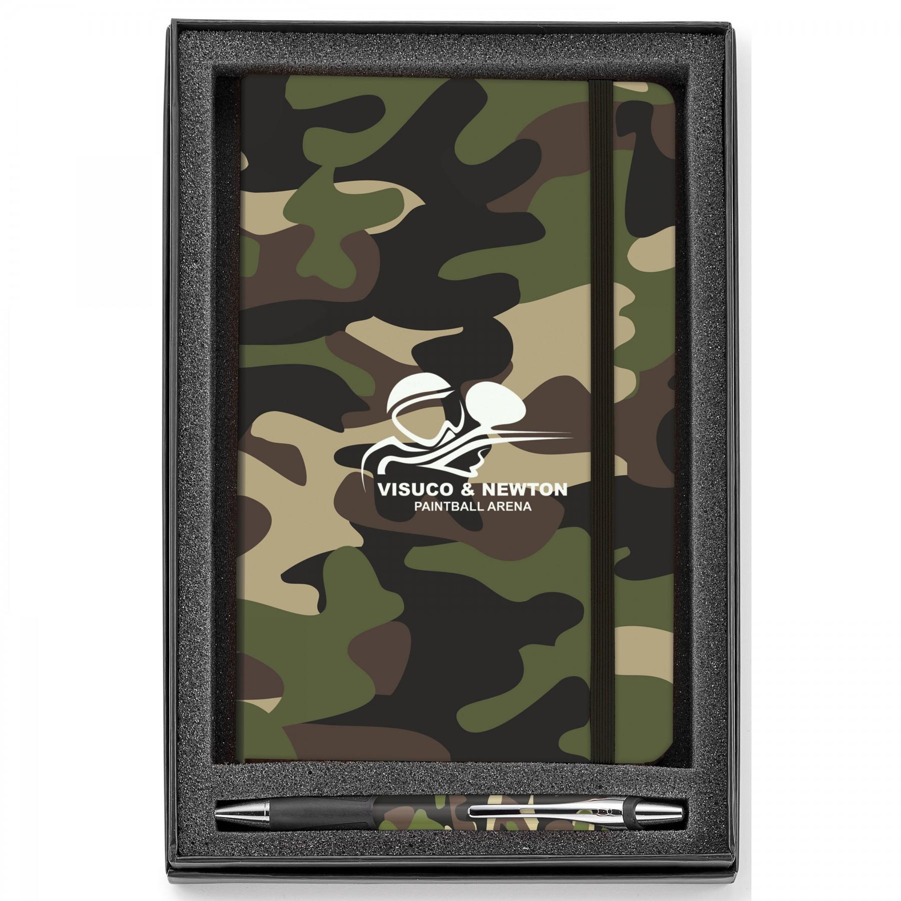 Soft Touch/Camouflage 2-Piece Gift Set - 1 Colour Imprint (GF4227)