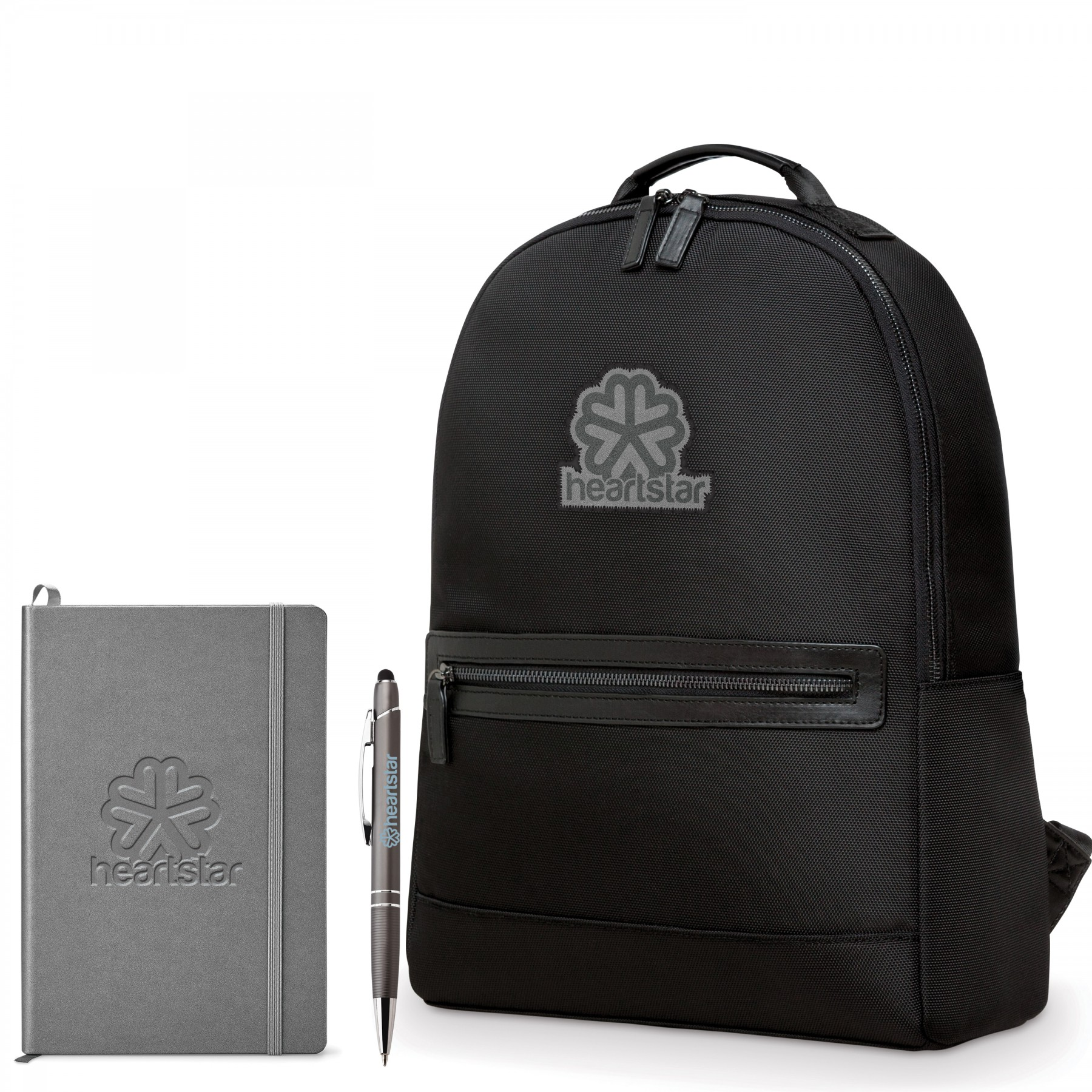 Classic Revival Neoskin Backpack Bundle, BB112, Debossed Logo