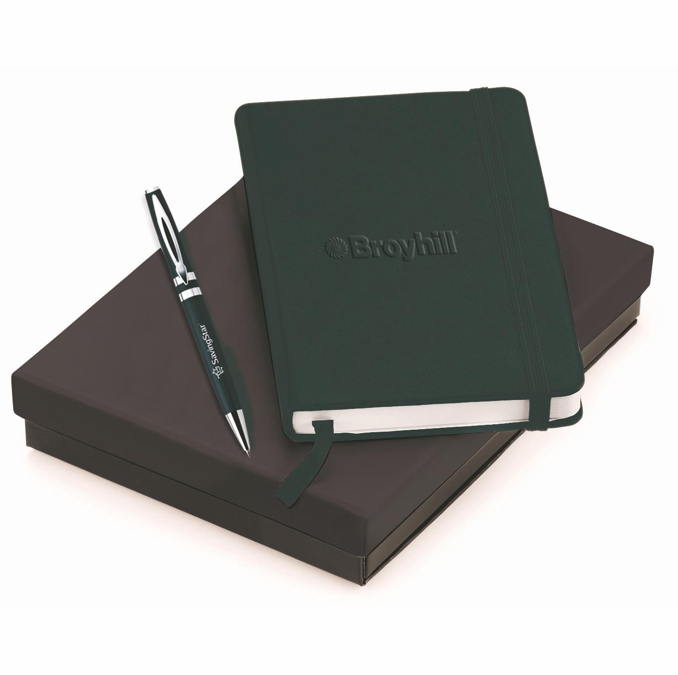 TEMPEST & NEOSKIN; PEN & JOURNAL GIFT SET, G6849, Debossed Logo