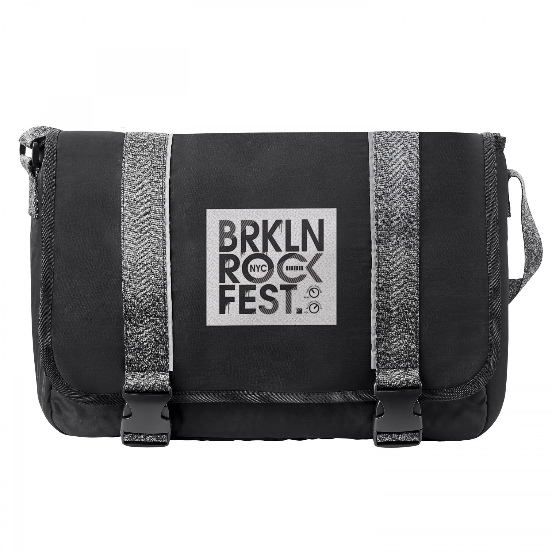 Athleisure Messenger, BG401, One Colour Imprint