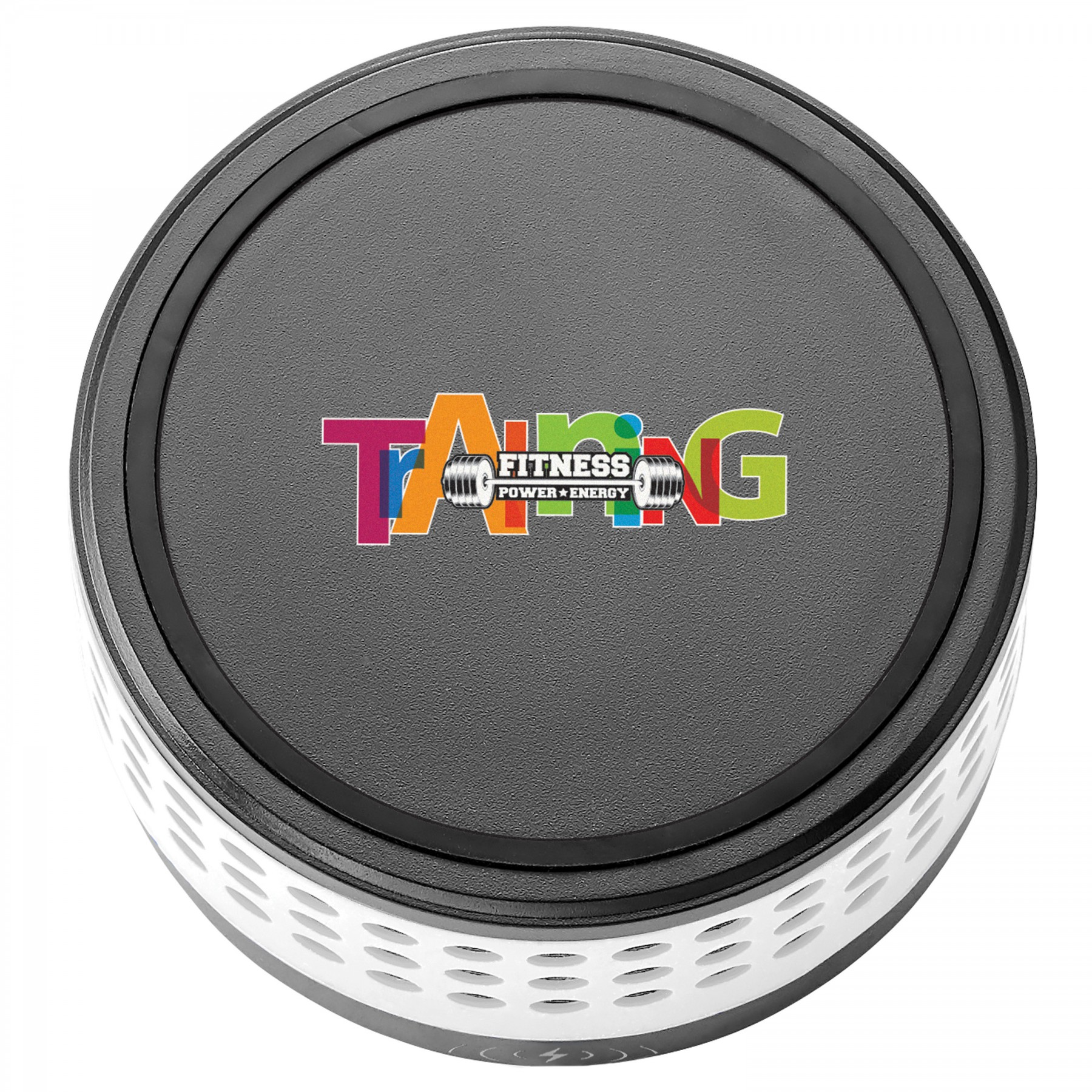 Miami 2-In-1 Wireless Speaker / Wireless Charging Dock, T252, Full Colour Imprint