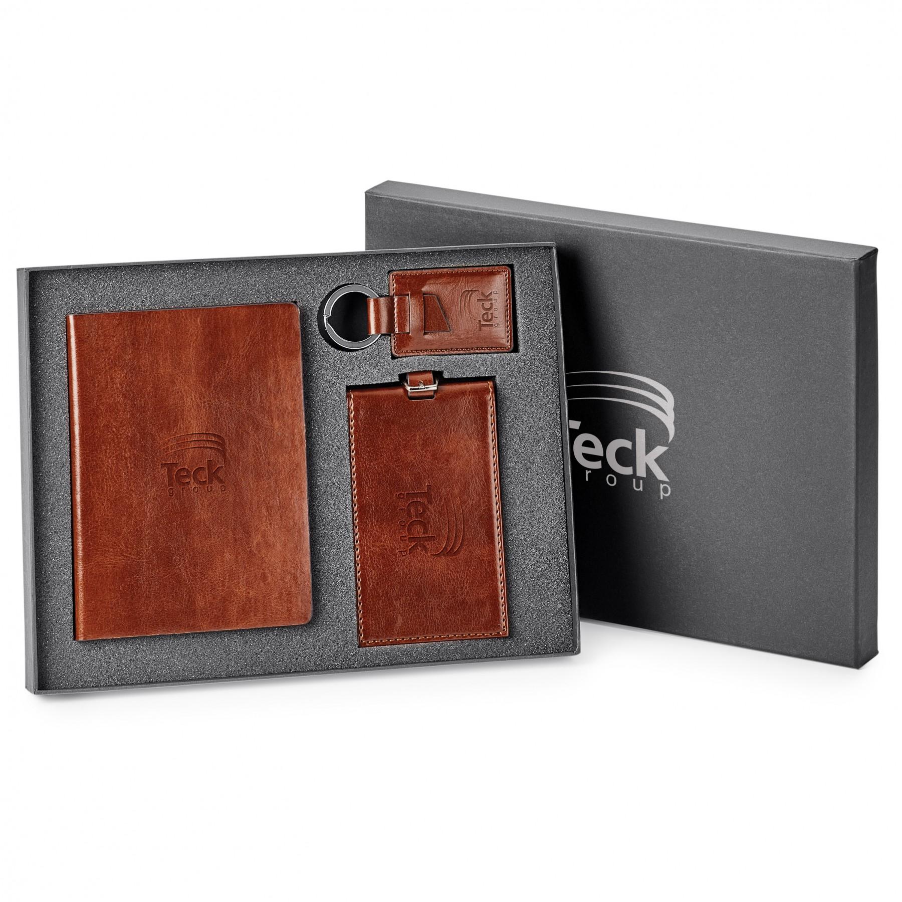 3-Piece Gift Set, GF1040, Debossed Logo