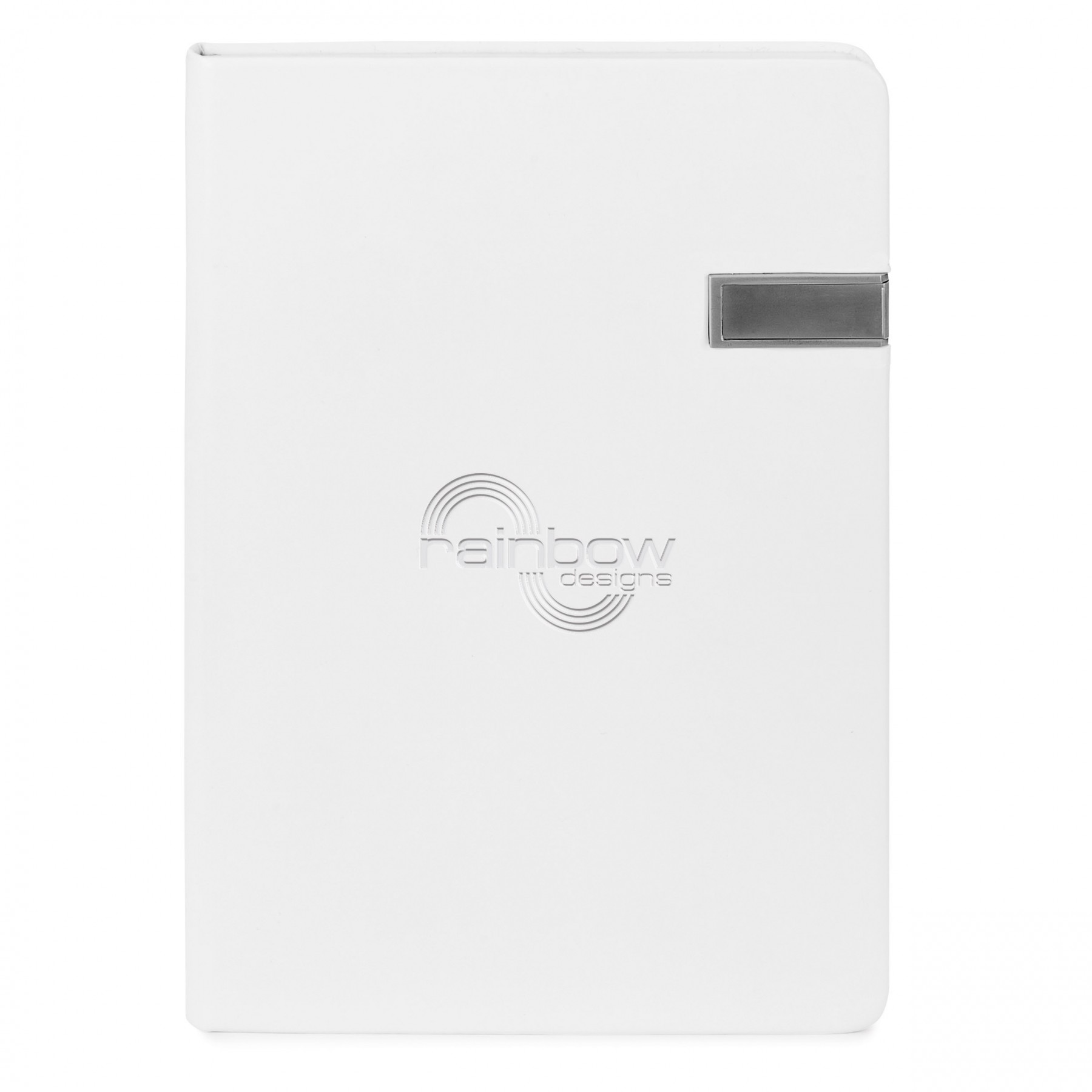 Clark 4 Gb USB Journal, ST4384, Debossed Logo