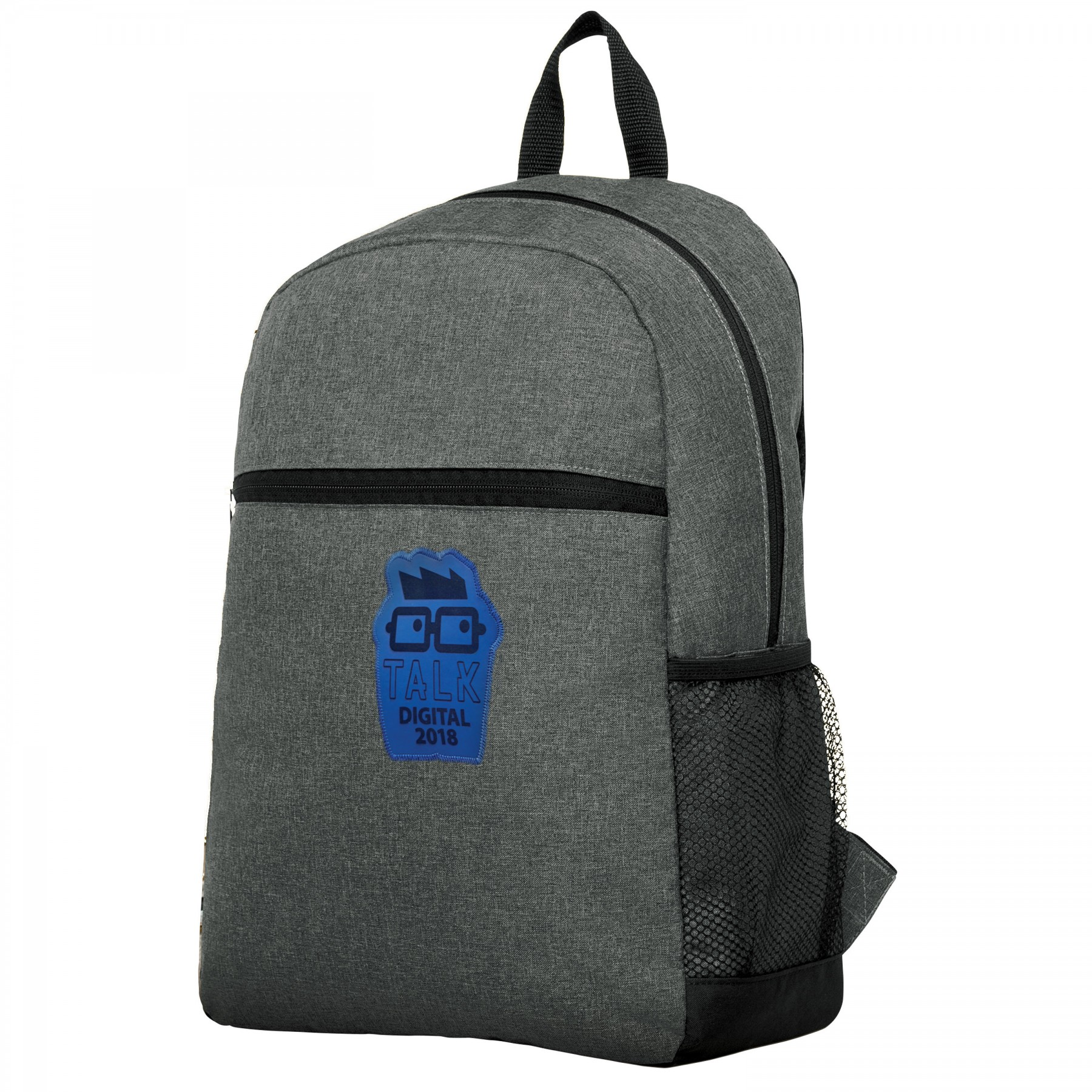 Business Smart Flush-Front Backpack, BG101, One Colour Imprint