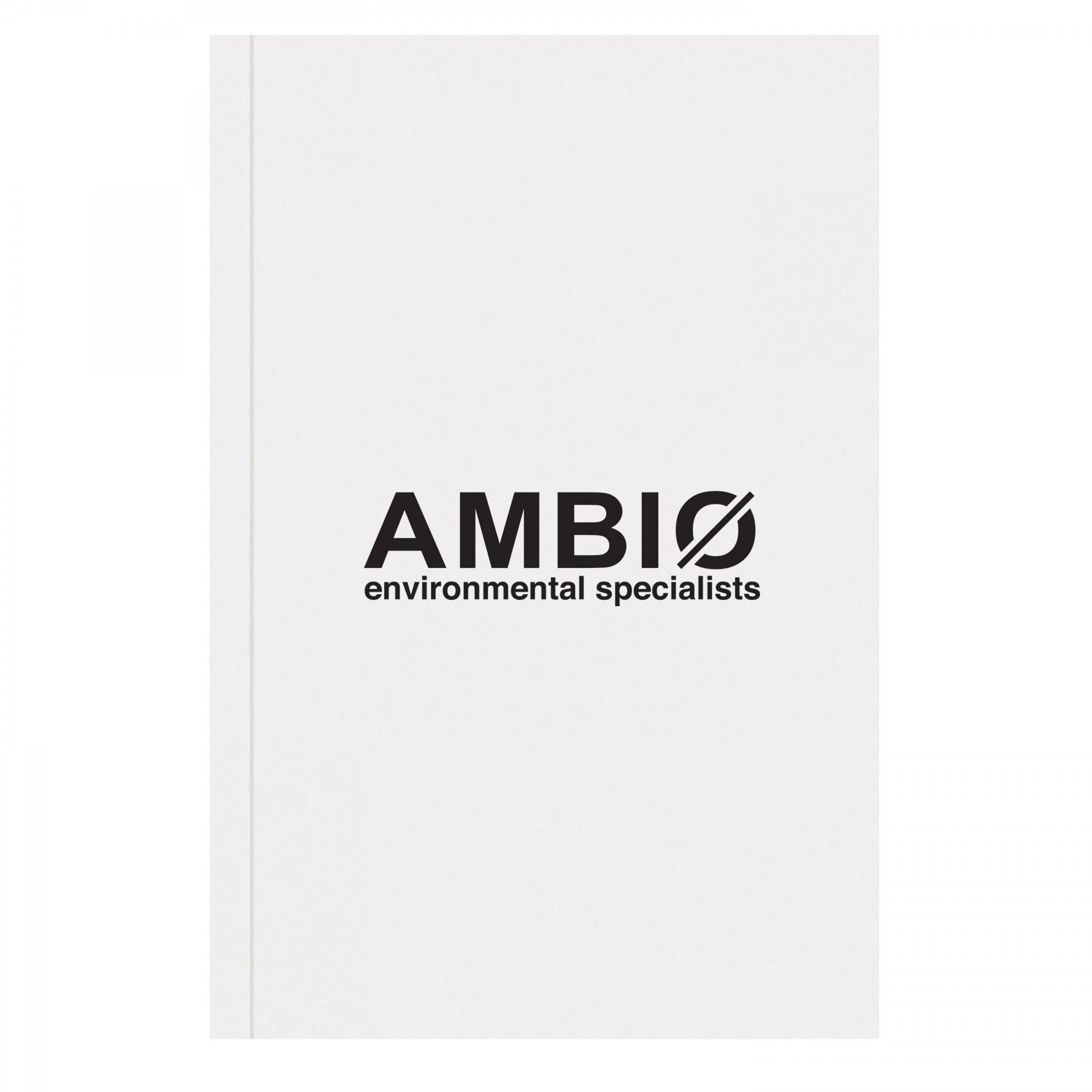 Perfect Bound Eco Notebook, EC3080, 1 Colour Imprint