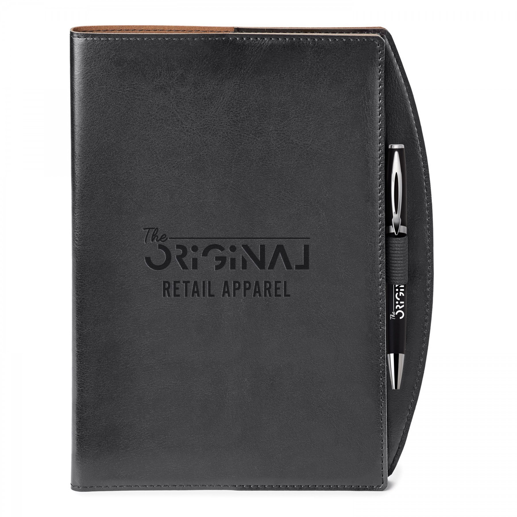 Fabrizio Refillable Journal Combo, ST4172, Debossed Logo