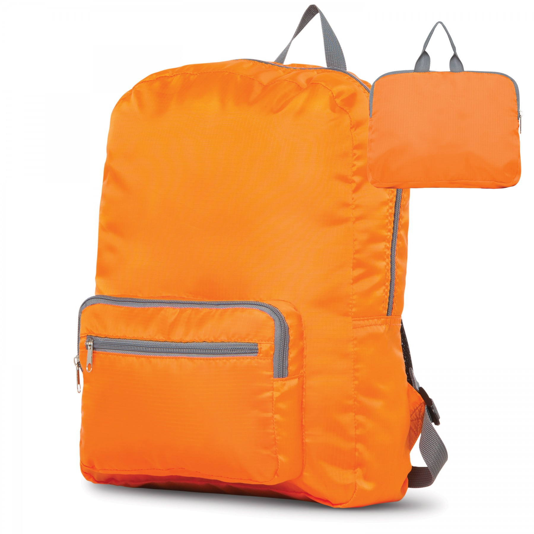 Make It Pop Packable Backpack, BG100, One Colour Imprint