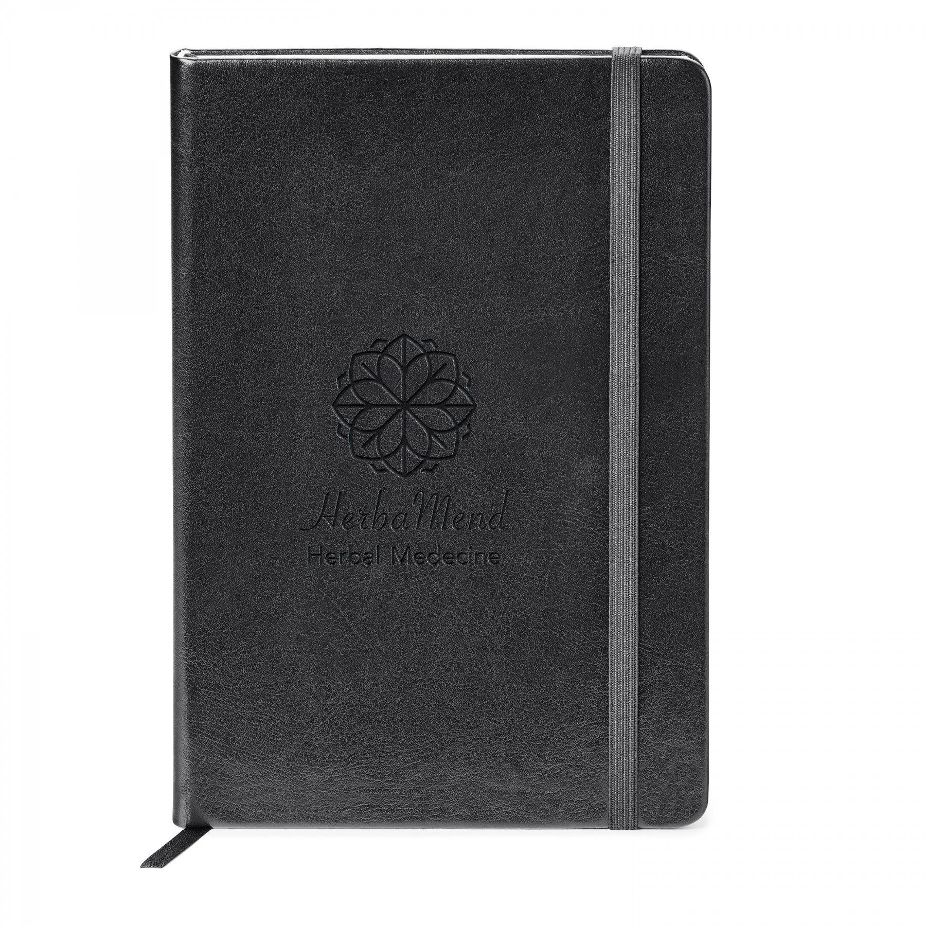 Fabrizio Hard Cover Journal, ST4159, Debossed Logo