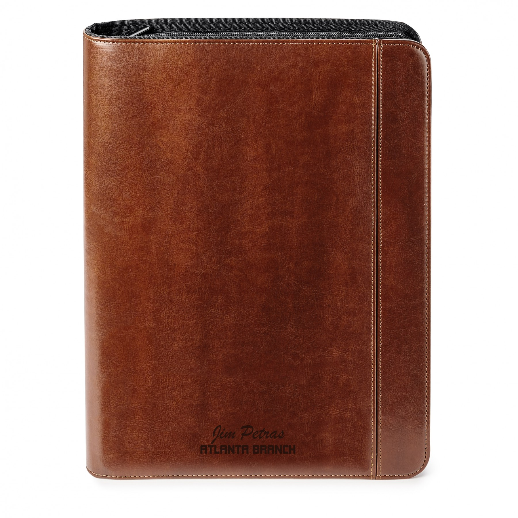 FABRIZIO 5,000 mAh POWER BANK ZIP PORTFOLIO, T112, Debossed Logo