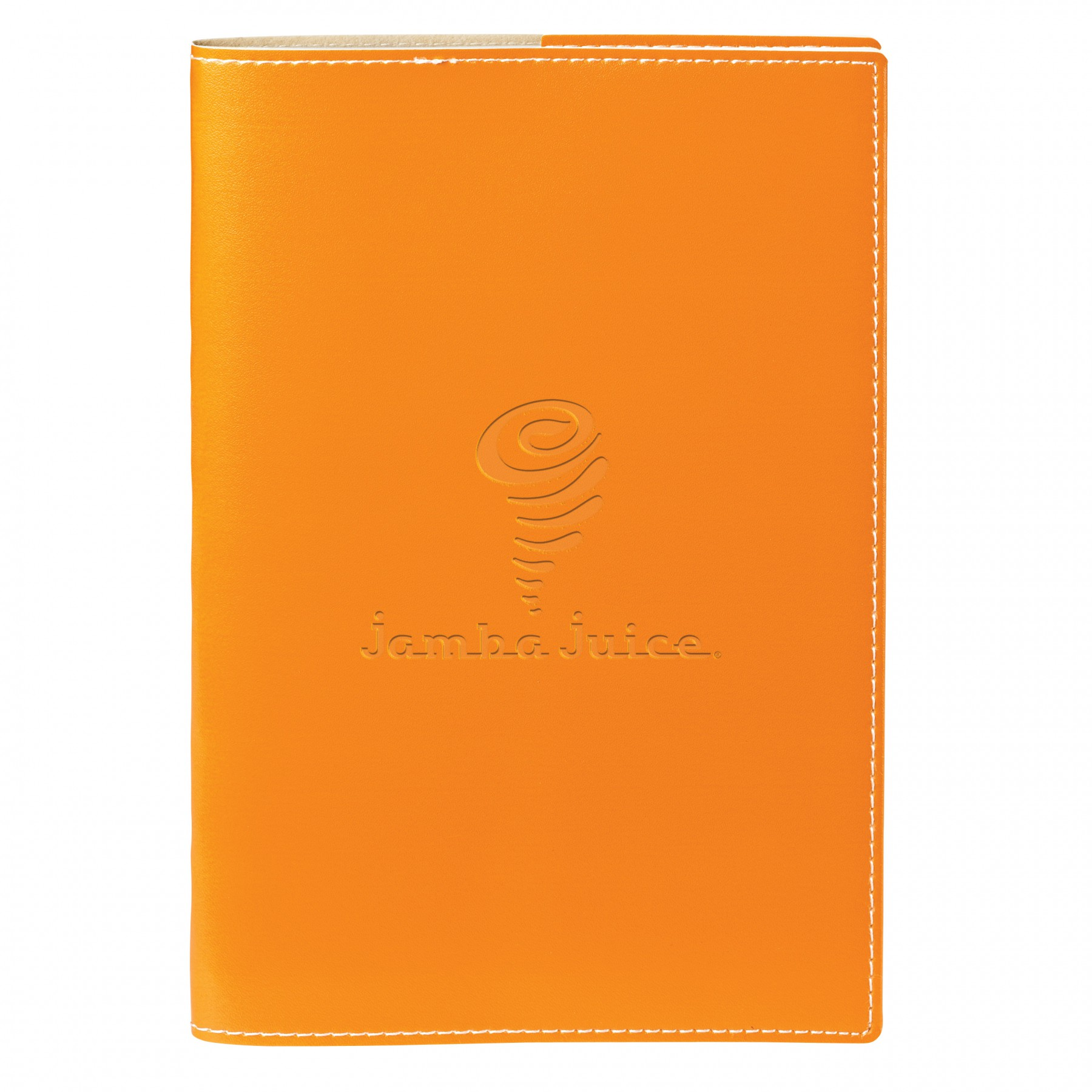 Vinyl Cover &Refillable Spiral Notebook, ST4262, Debossed Logo