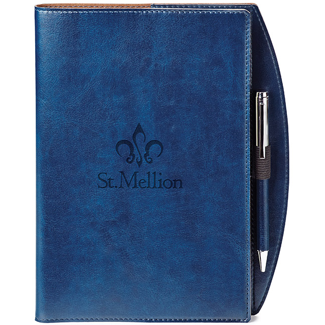 Fabrizio Refillable Journal Combo, ST4165, Debossed Logo