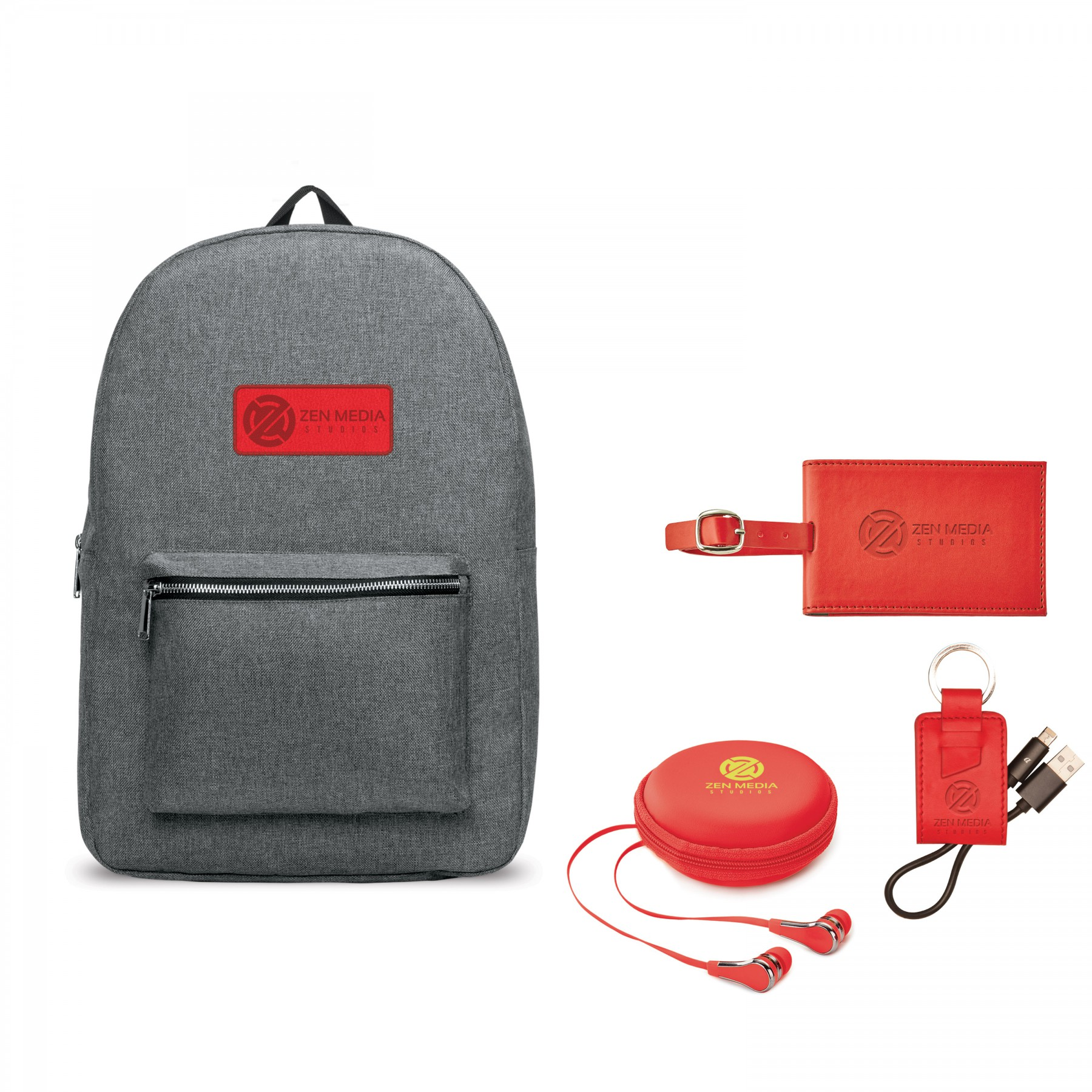 Nomad Must Haves Classic Backpack Donald Bundle, BB102, One Colour Imprint