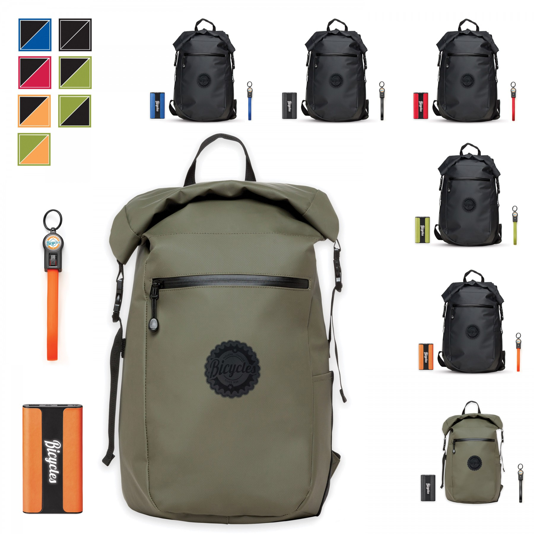 Call Of The Wild Backpack Donald Startup Bundle, BB123, Full Colour Imprint
