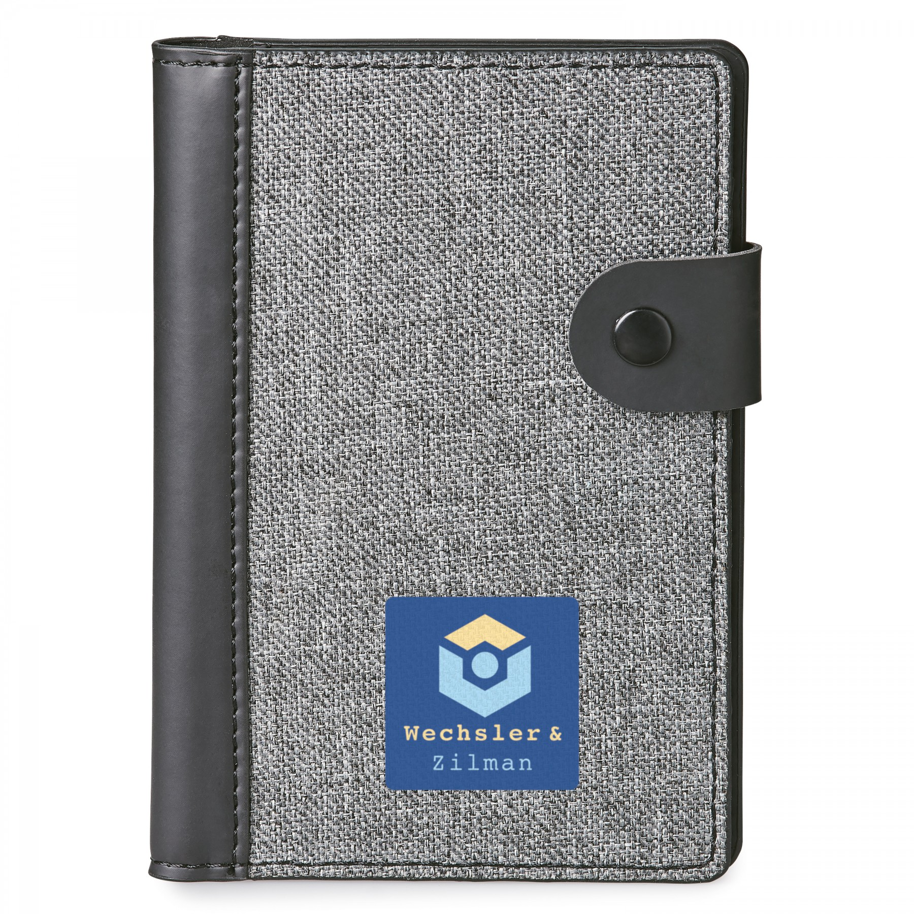Nomad Rfid Passport Holder With Memo Pad, ST156, Full Colour Imprint