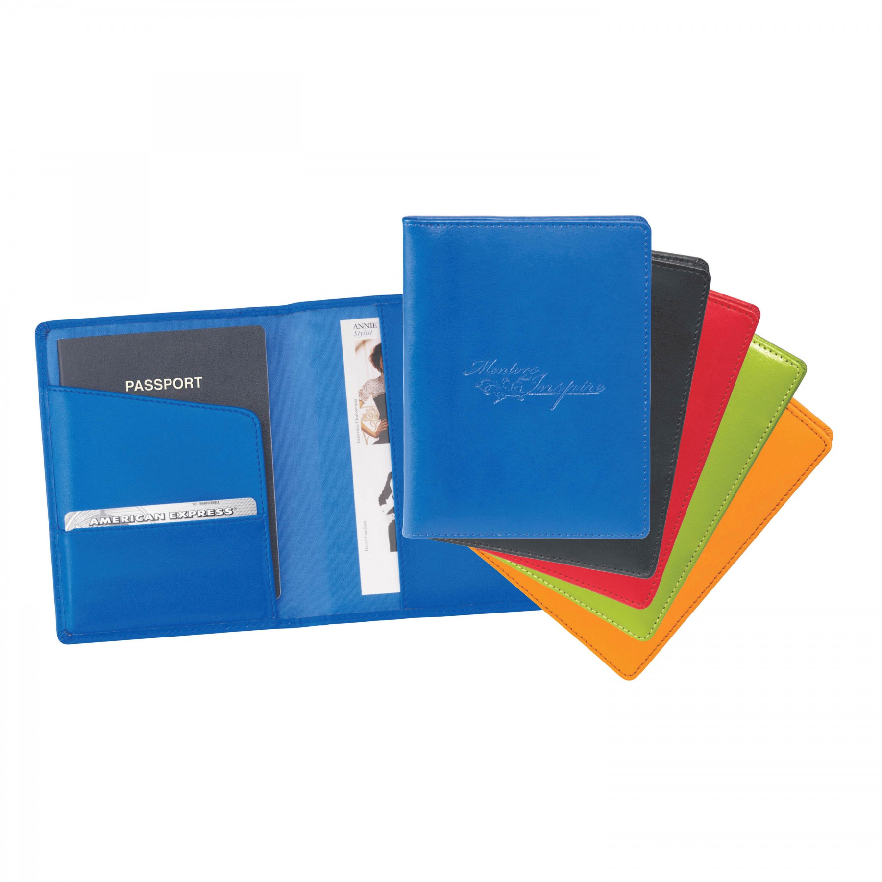 Colorplay Travel Wallet - Debossed Imprint (ST119)