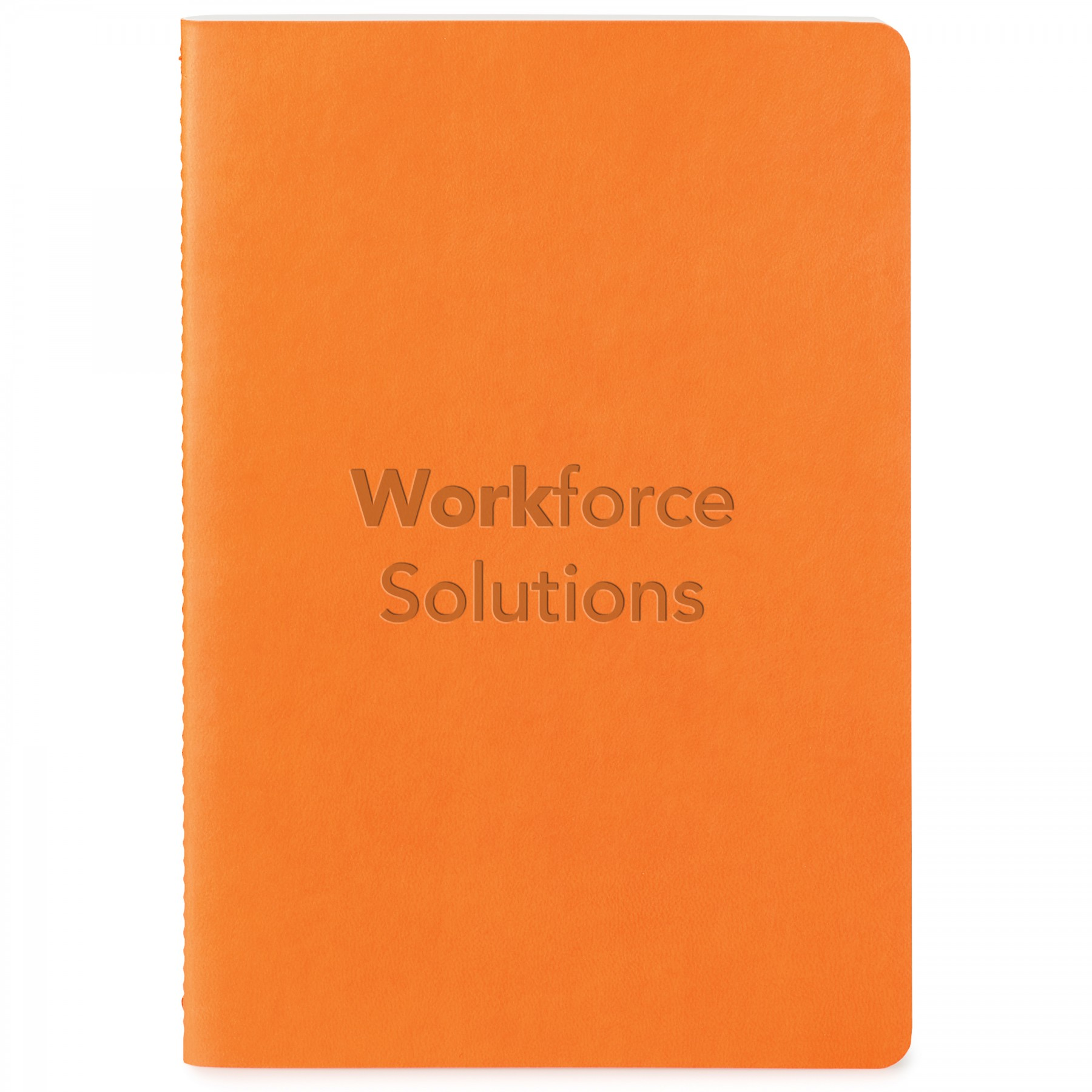 Donald Soft Cover Single Meeting Journal, ST4182, Debossed Logo