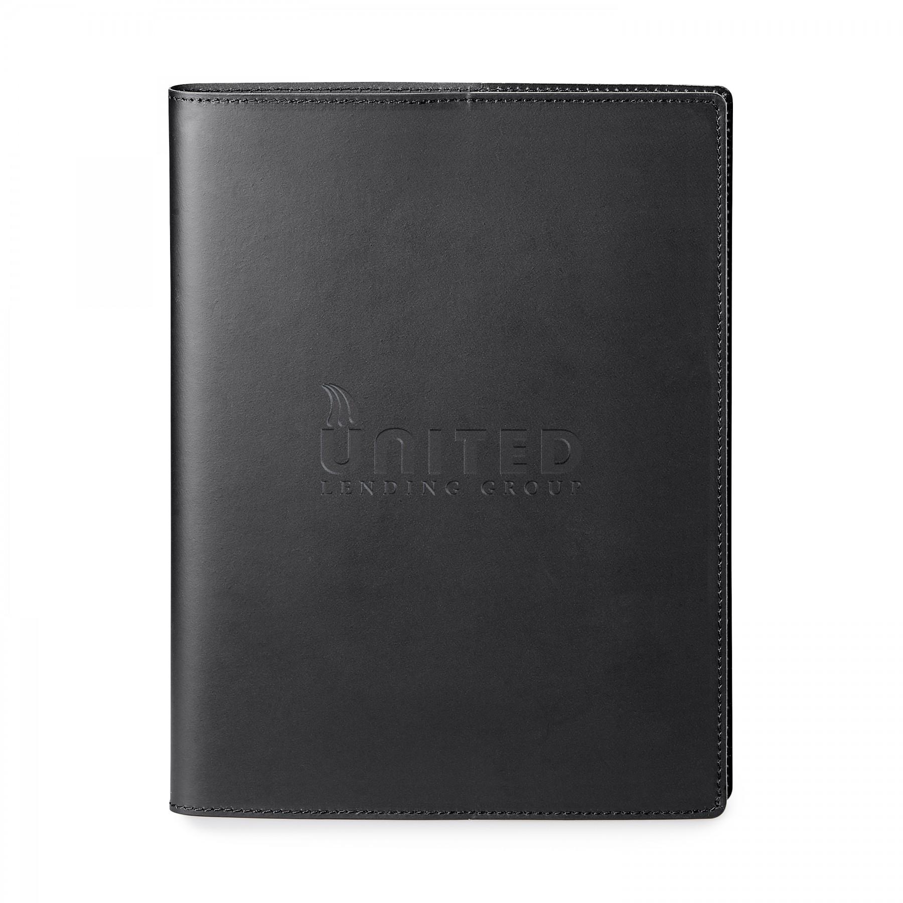 Giuseppe Di Natale Refillable Leather Journal - Debossed Imprint (ST603)