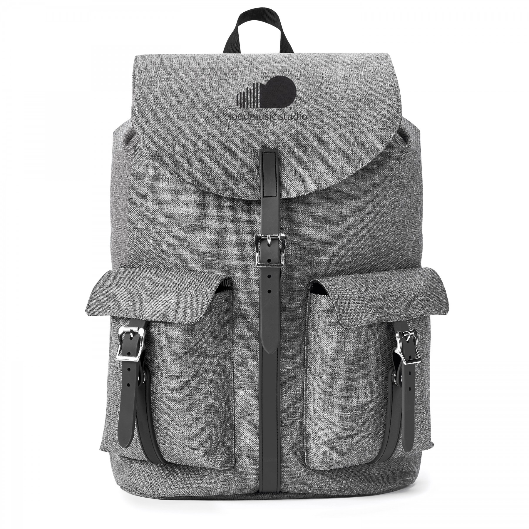Nomad Must Haves Flip-Top Easy-Access Backpack, BG107, One Colour Imprint