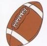 Football Stock Temporary Tattoo