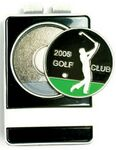Custom Golf Tournament Id/Money Clip(Die Struck)