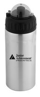 20 Oz. Aluminum Bottle with Push-Pull Cap