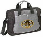 Custom Business Portfolio Messenger Bag w/Side Mesh Pocket