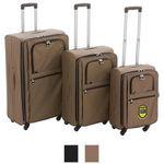 Custom Executive Expandable Boarding Case (3-PC Set)