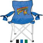 Custom Camping/Folding Chair with Dual Cup Holder