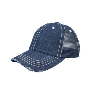 d13f4dd5a43 Unstructured Denim Mesh Cap - 6990B - IdeaStage Promotional Products