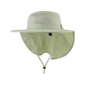 c31b49bfdf4 Juniper Taslon UV Large Bill Hat w  Roll-Up Flap - J7243 - Brilliant  Promotional Products