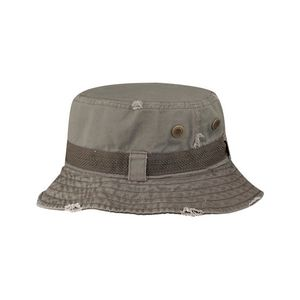 95330d5a35dbe9 Frayed Cotton Twill Washed Bucket Hat - 7917 - IdeaStage Promotional  Products