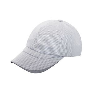 55ee324f480b1 Promotional Product - Unstructured PET Spun/Bamboo Charcoal Fiber Cap w/  Top Reflective Trim