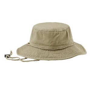 f5ba62443c9 Water Repellent Cotton Twill Washed Bucket Hat w  Chin Cord - 7899 - IdeaStage  Promotional Products