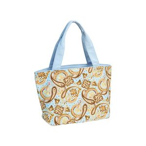 633d5df623b Promotional Product - Paisley Print Canvas Tote Bag- 15.5