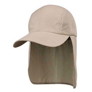 062ac0910e0 Juniper Microfiber Cap w  Mesh Flap - J7692 - Brilliant Promotional Products