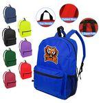 Custom Best Value Heavy Duty Backpack With Water Bottle Pocket