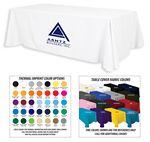 Custom 8' Premium 1-Color Thermal Transfer Table Cover