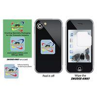 "Smudge-Away™ Microfiber Screen Cleaner Square Medium (1"" x 1"")"