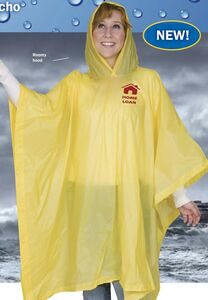 8 mm Lightweight Budget Boosters Adult Rain Poncho