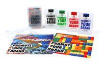"Classic Cloth Flat Travel Kit - 4-Color Process (7""x7"")"